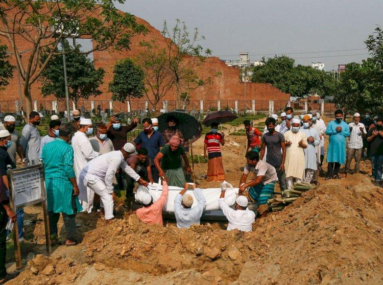 করোনায় দেশে ৪০ জনের মৃত্যু