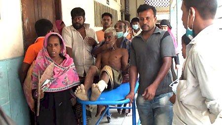 হবিগঞ্জে টেঁটাযুদ্ধে অর্ধশতাধিক আহত